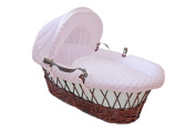 Cuddles Collection Dimple Dressing on Moses Basket