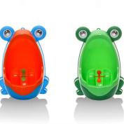 Yantu 2PCS Frog Children Potty Toilet Training Kids Urinal for Boys Pee Trainer Bathroom