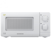 Daewoo QT1 Compact Microwave Oven, 14 L, 600 W - White