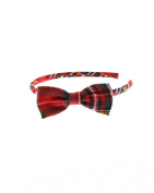Zac's Alter Ego® Tartan Alice Band with Bow