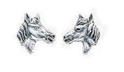Elements, Silver Horses Head Stud