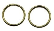 Arranview Jewellery 9ct Gold 10mm Plain Sleeper Hoops