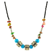 Ethnic necklace - Himal - Turquoise Fashion jewellery Low price gift for woman Jewellery