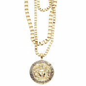 Hip Hop Bling THREE BOX CHAINS - 3 in 1 MEDUSA gold