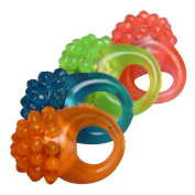 Flashing Led Bumpy Ring Great For Dances, Parties Or Costumes Pack of 12 in 4 Colours