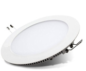 18W LED Round Recessed Ceiling Flat Panel Down Light Ultra slim Lamp Cool White 6500K Super Bright