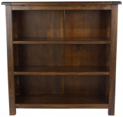 Core Products Low Bookcase, Rich Dark Brown