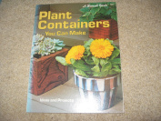 Plant containers you can make