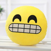 COOLCASE D:giggle Style Creative Cartoon QQ Expression Funny Plush Toy Emoji Soft Pillow
