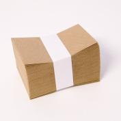 Quality Brown Kraft Envelopes (Packed 100) For Florist Cards