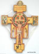 15cm St Saint Benedict Crucifix Cross Wall Hanging