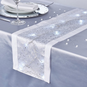 Table Runner With LED Lights
