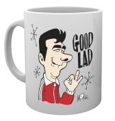 "GB eye ""I Believe In Miracles, Good lad"" Mug"