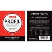 Leeda Profil 2.7m Tapered Leaders wirh 2 Droppers