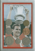 Nottingham Forest (The Reds) Vintage FA Cup Final Winners Retro Coin Present Display Gift Set 1959