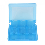 Atdoshop(TM) 28-in-1 Game Card Case Holder Cartridge Box for Nintendo 3DS & XL New Blue