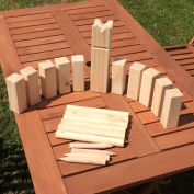 Selections Delux Wooden Kubb Viking Chess Garden Game