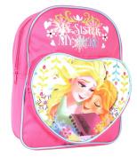 Disney Frozen Nordic Summer Heart Backpack, 7 Litres, Pink