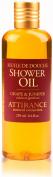 Attirance - Shower Oil - Grape & Juniper - 250ml - All Natural with Grape Seed Oil, Juniper Extract & Castor Oil