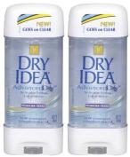 Dry Idea Clear Gel Antiperspirant/Deodorant, Powder Fresh - 90ml - 2 pk