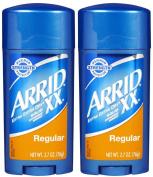 Arrid XX Solid Antiperspirant & Deodorant, Regular - 80ml - 2 pk