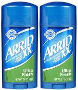 Arrid XX Solid Antiperspirant & Deodorant-Ultra Fresh-80ml, 2 pk