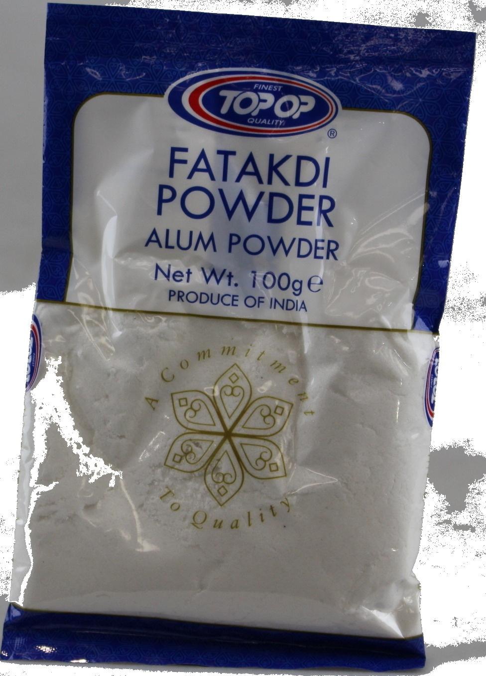 Crazee Deal Alum Powder Anti-Bacterial Deodorant Fatakdi Powder Potassium  Sulphate 100G