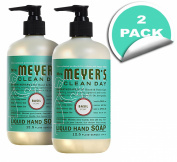 Mrs. Meyer's Clean Day Liquid Hand Soap - Basil - 370ml