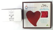 Soothing Beauty Bundle - 2 Items - Au Lait Body Butter 210ml and Bucky Hot/Cold Therapy Heart Warmer