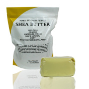 Unrefined Raw Organic Ivory Shea Butter By Mary Tylor Naturals 0.5kg (470ml) Grade A