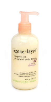 2 Ingredient Shea Butter Body Lotion - With Lavender Essential Oil