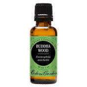 Buddha Wood 100% Pure Therapeutic Grade Essential Oil by Edens Garden- 30 ml