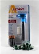 Azdent Tooth Polisher + 14 Cups Qartz Mint Medium Grit Professional Tooth Polish