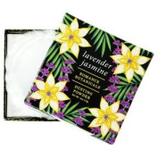 Luxurious Lavender Jasmine Romance Botanicals Dusting Powder with Puff