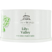 WOODS OF WINDSOR LILY OF THE VALLEY by Woods of Windsor DUSTING POWDER 100ml