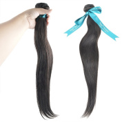 Vani® 50cm Different Style Hair Weave 100% Unprocessed Human Hair Extensions Natural Black Colour