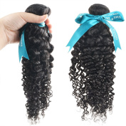 Vani® 46cm Different Style Hair Weave 100% Unprocessed Human Hair Extensions Natural Black Colour