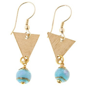 Sitara Collections SC5547 Champa Brass Glass Beaded Earrings