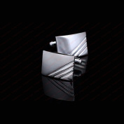 High Quality Fashion Men's Stainless Steel Business Shirt Classic Cufflinks Gift