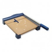 Paper Trimmer, 38cm , 36cm - 0.6cm x 70cm x 3-1.3cm , Woodgrain/Blue, Sold as 1 Each
