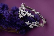 S925 Silver Hand-made Bracelet / Fashion & Personality Women Silver Bracelet / Summer's Flower