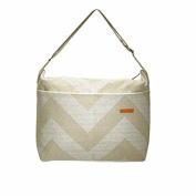 Foxy Vida Nappy Bag, Sand Denton