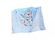 Whimsy Embroidered Baby Blanket, Giraffe