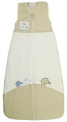 LIMITED TIME SALE! The Dream Bag Baby Sleeping Bag Elephant VELOUR & COTTON 3-6 Years 2.5 TOG - Cream