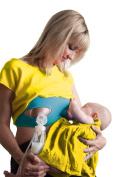Pump Strap Hands Free Breastpump Pumping & Nursing Bra Strap - Turquoise Blue