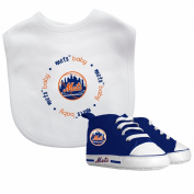 Baby Fanatic Bib with Pre-Walkers, New York Mets