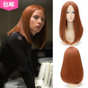 Xcoser Captain Cosplay Black Widow Wig Womens for Halloween