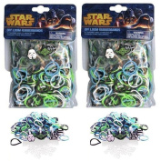 Star Wars Rubber Band Looms 300 Piece Character Charms DIY Set