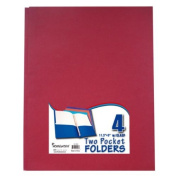 Two Pocket Folders with 3 Fasteners - 4 Pack-Asst. 48 pcs sku# 692785MA