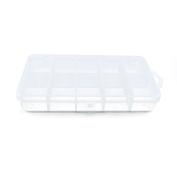 1 PCS Clear Beads Tackle Box Arts Crafts Tackle Storage Plastic Boxes Organisers Containers Case XX017